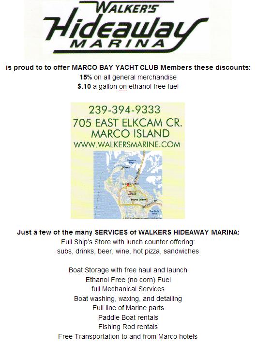 Walkers Hideaway Marina discounts