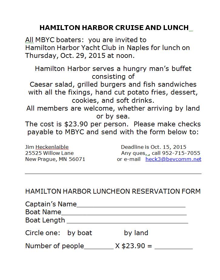 151029 Hamilton Harbor