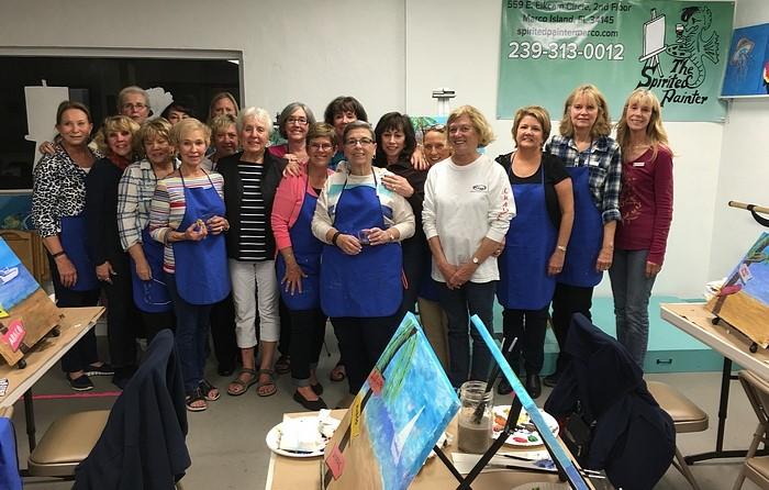 Spirited Painters