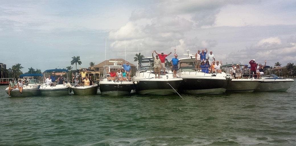 Raft Up in Smokehouse Bay