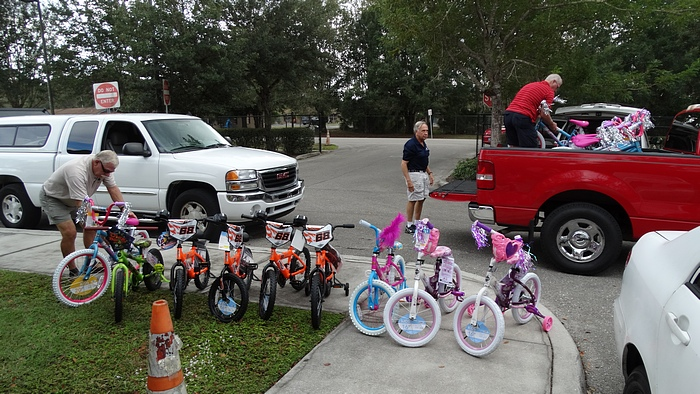 The Miracle of the Multiplying Bicycles
